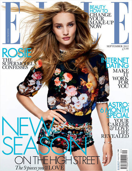 Elle UK September 2012