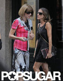Sarah Jessica Parker and Anna Wintour Have a Gleeful Lunch in NYC