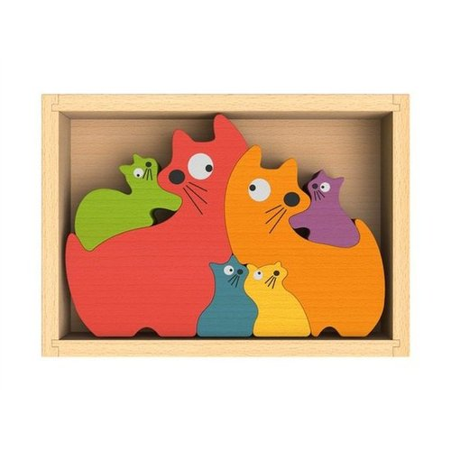 Modern Wooden Puzzles For Kids