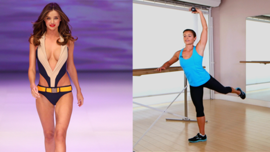 Get Miranda Kerr's Supermodel Shape With Her Favorite Ballet Workout!