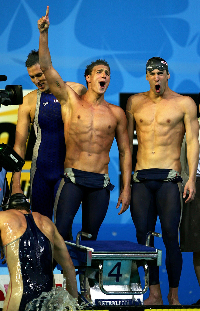 Ryan Lochte and Michael Phelps made quite the pair in 2007.