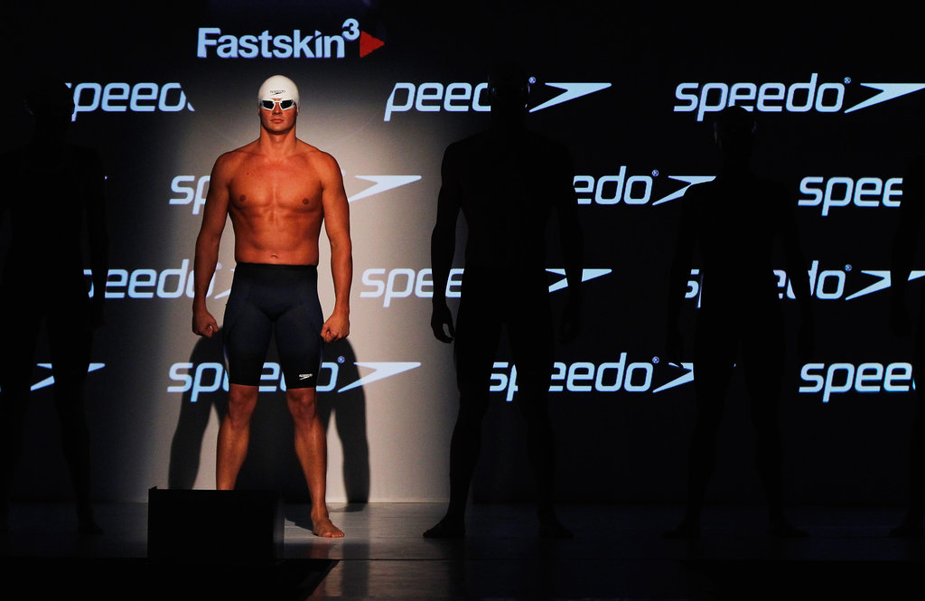Ryan modeled for Speedo in 2011.