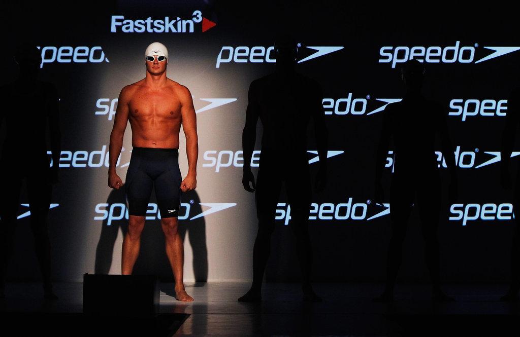Ryan modeled for Speedo in 2011.