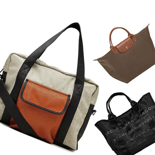Top Five Cool Gym Bags: Backpacks Begone! Shop the Best from Marc by Marc Jacobs, Sportsgirl, Lonchamp & More