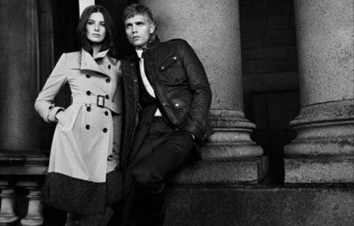 Burberry Black Label Fall 2012 Ad Campaign