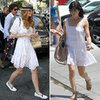 White Eyelet Dresses (Celebrity Pictures and Shopping)