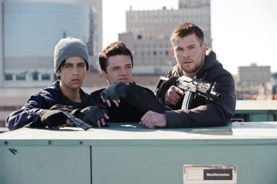 See the First Pictures of Chris Hemsworth and Josh Hutcherson in Red Dawn
