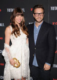 Jessica Biel Wears White For a Total Recall Night