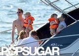 Neil Patrick Harris and David Burtka took a boat ride with their kids.