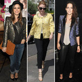 We've got three celeb-inspired reasons that you should be rocking a brocade jacket.