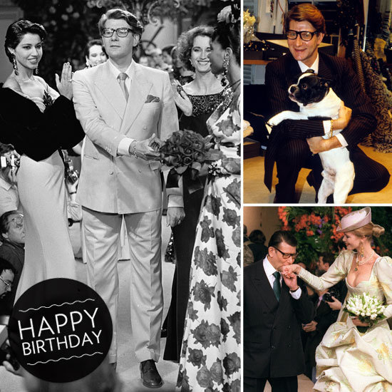 A glamorous look at Yves Saint Laurent's incredible life and work.