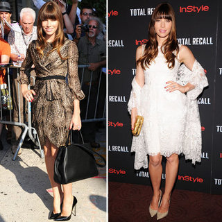 Jessica Biel at Total Recall NYC Premiere