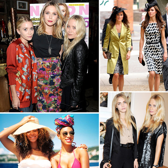 All in the Family: 33 of Our Favourite Style-Setting Sisters