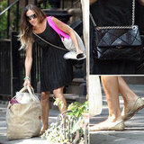 Sarah Jessica Parker styled up a sweet, Summer take on the LBD.