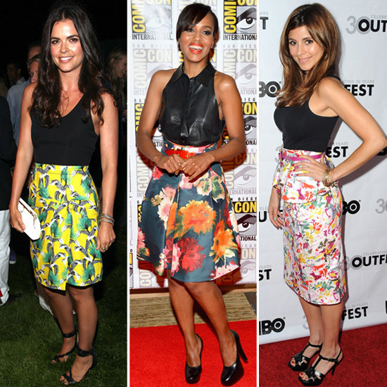 This is why you should have a printed skirt in your wardrobe.