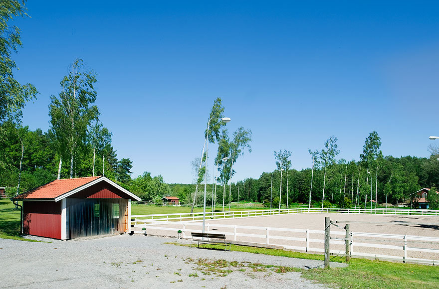 The property features six spacious paddocks for exercising and practicing your piaffe.