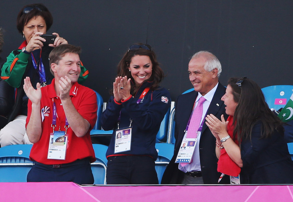 Kate was reportedly looking forward to watching Great Britain's hockey team.