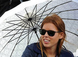 Princess Beatrice watched an equestrian event at Windsor.
