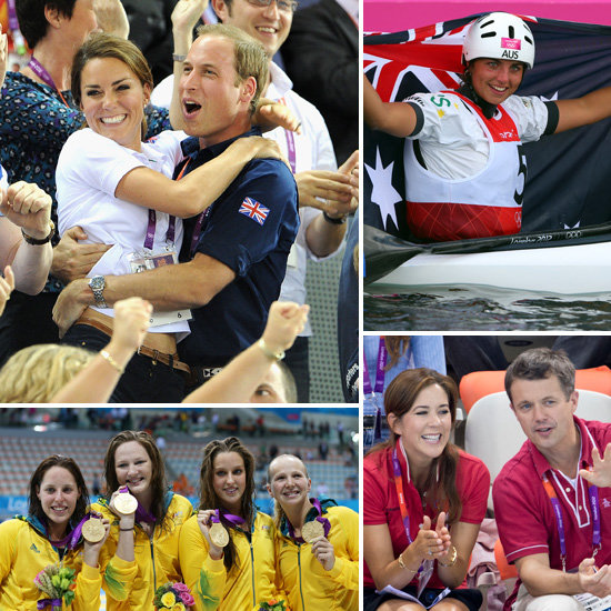 2012 London Olympics Celebrity Pictures Including Kate Middleton and Prince William