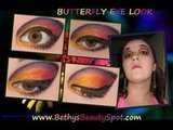 Butterfly Inspired Look
