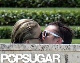 Kate Hudson kissed Matthew Bellamy.
