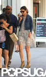 Katie Holmes Shows Her Summer Style During an NYC Outing