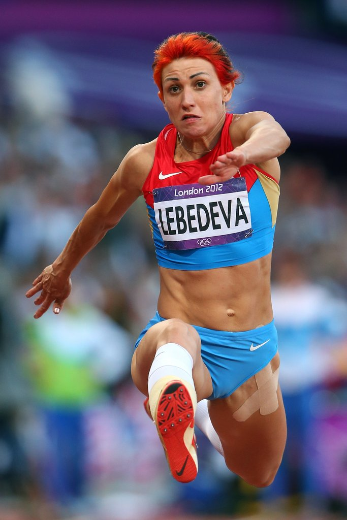Best Hair Color: Russian Track and Field