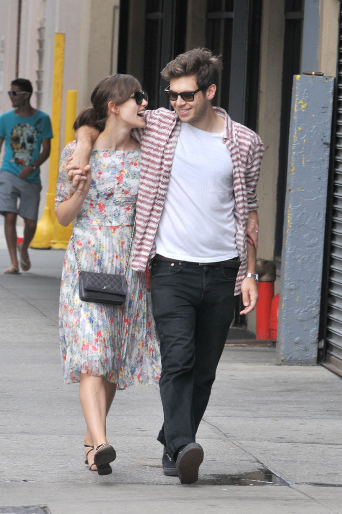 Keira Knightley and fiancé James Righton took a walk together in NYC.