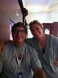 Misty May-Treanor posed with a coach.  Source: Twitter user MistyMayTreanor