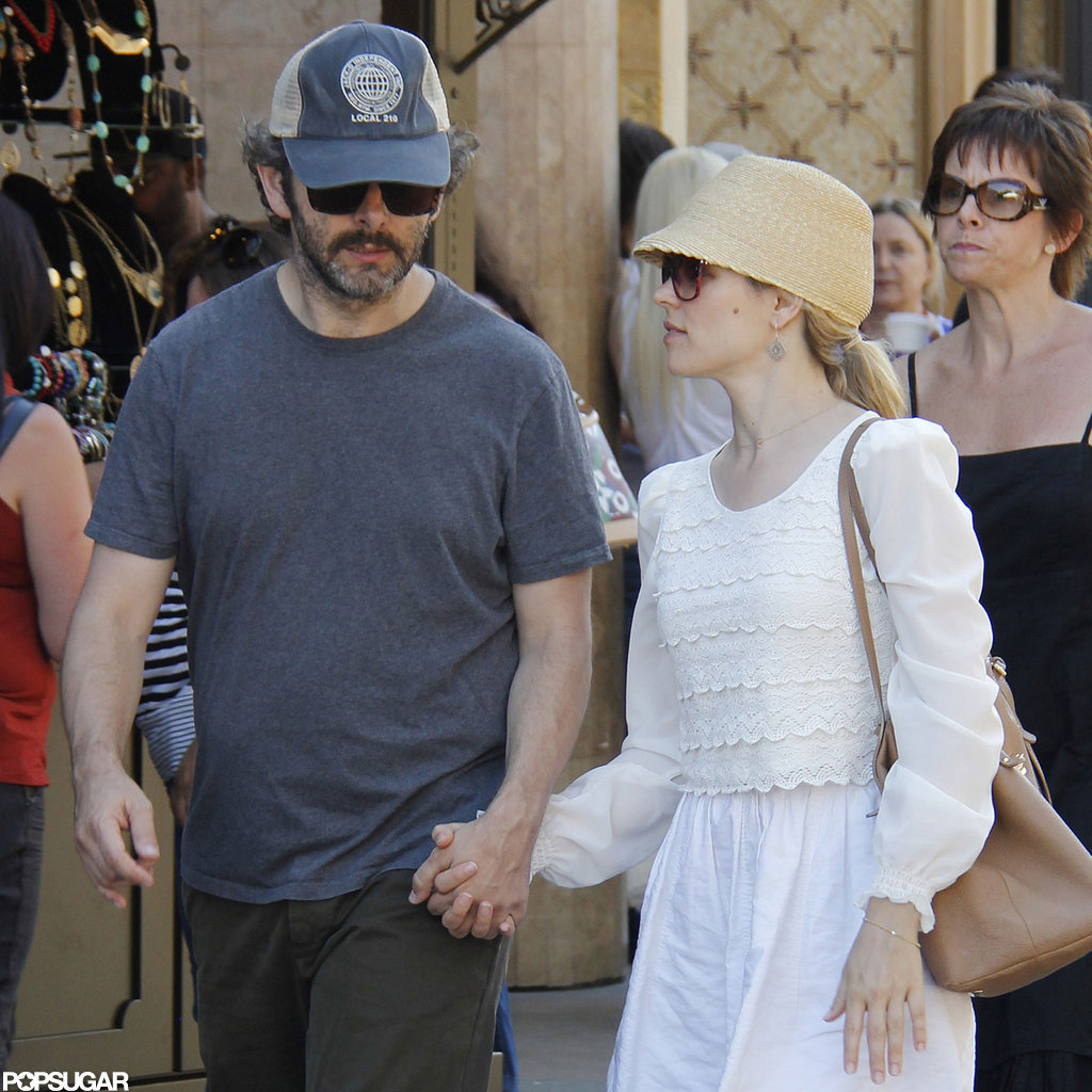 Michael Sheen wore a baseball hat yesterday.
