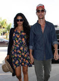 Matthew McConaughey held hands at LAX.