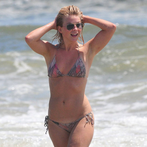 Julianne Hough Wears a Bikini at Oak Island Beach