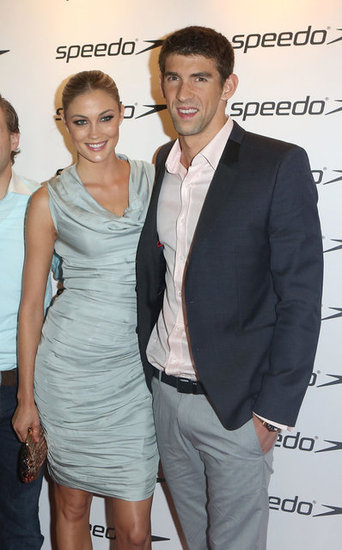 Michael Phelps Goes Public With Model Girlfriend Megan Rossee