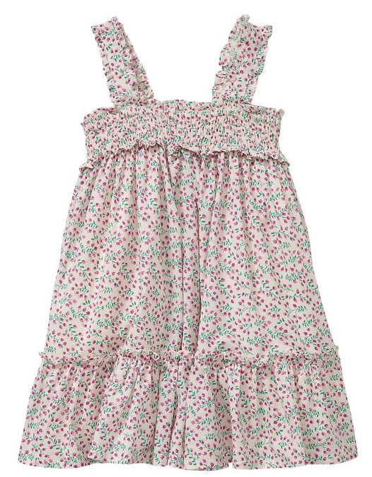 Baby Gap's Smocked Ruffle Dress ($19)