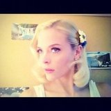 Jaime King showed off her lemon look on the set of Hart of Dixie. Source: Instagram user jaime_king