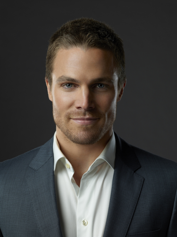 Stephen Amell on The CW's Arrow.