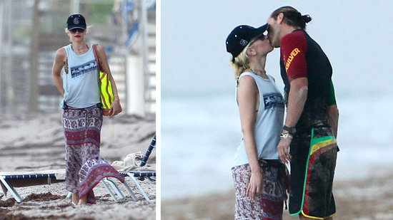 Gwen Stefani Brings Her Bikini Bod (and Her Punky Style) to the Beach