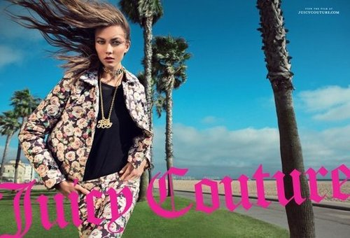Palm trees, Los Angeles sunshine, and Karlie Kloss looking picture-perfect in Juicy Couture's Fall ads.