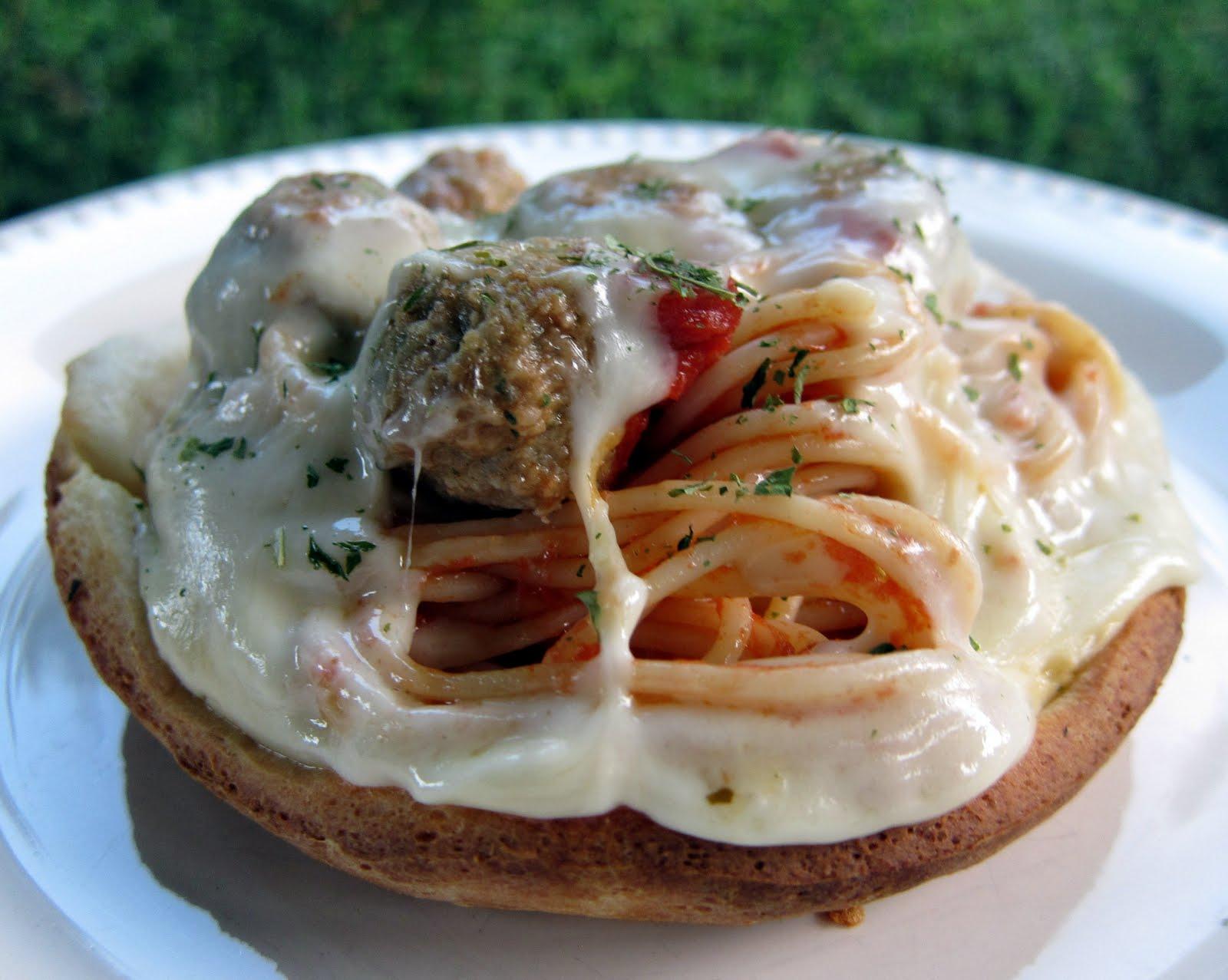 Spaghetti and Meatball Potpies