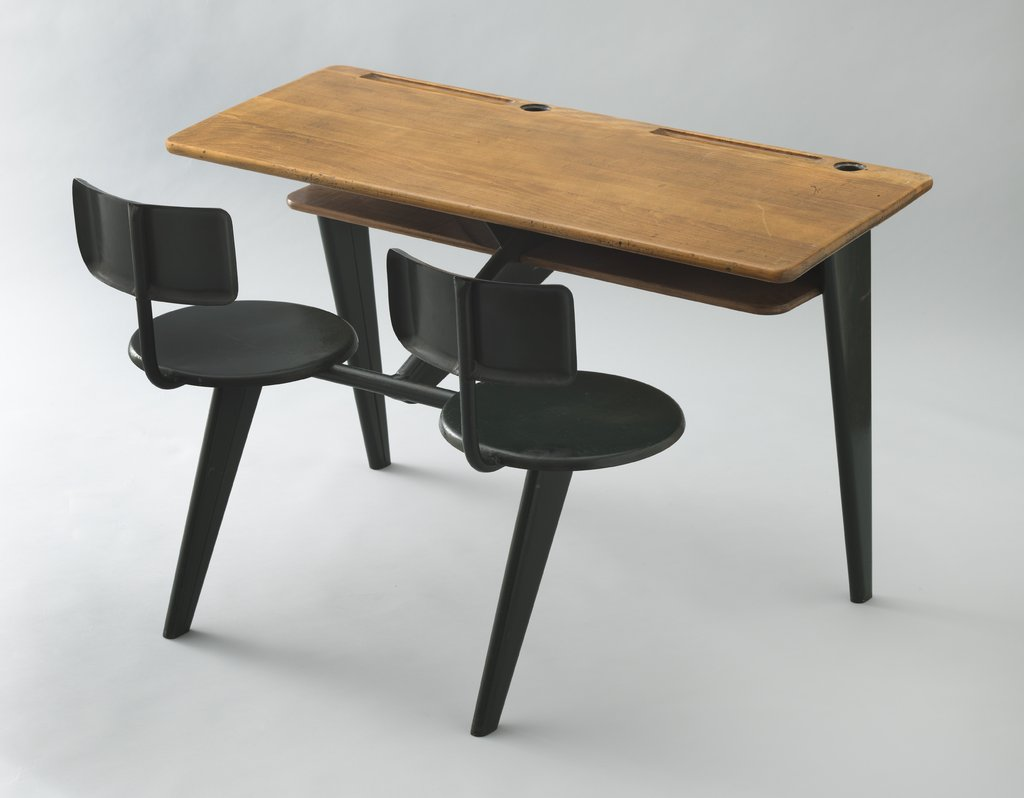 Jean Prouvé, school desk, 1946.