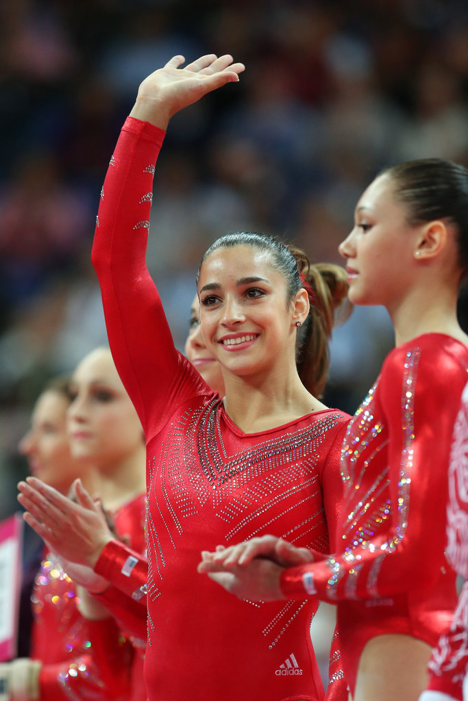 """An elite athlete is someone who always works really hard and pushes themselves no matter what . . . someone that not only can work hard but can have fun with it and just kind of enjoy the ride.""  — Aly Raisman on what sets an athlete apart"
