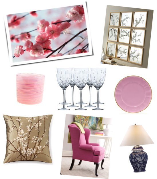 Cherry Blossoms Decor