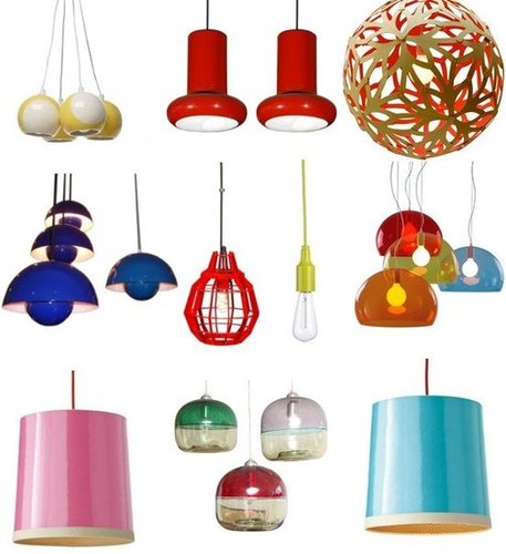 Colored Pendant Lamps Shopping