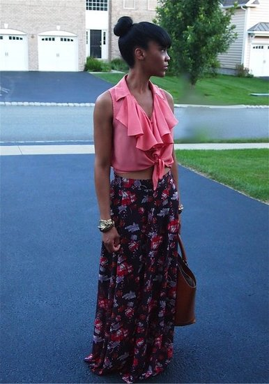 Florals and Ruffles