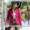 Naomi on 90210 Wearing Leopard Skirt