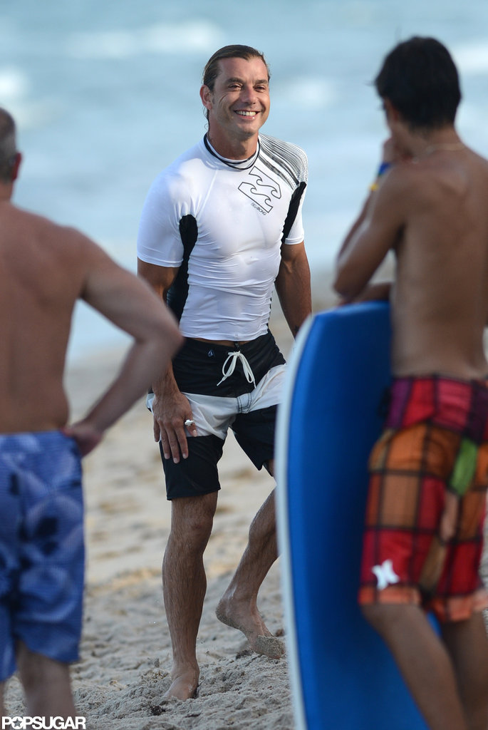 Gavin Rossdale vacationed in Florida.