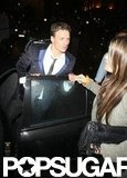 Ryan Lochte went clubbing in London.