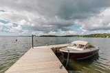 Dock your boats at the home's pier.
