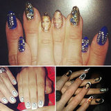 Celebrity Romantic Nail Art