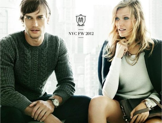 Massimo Dutti Fall 2012 Ad Campaign 